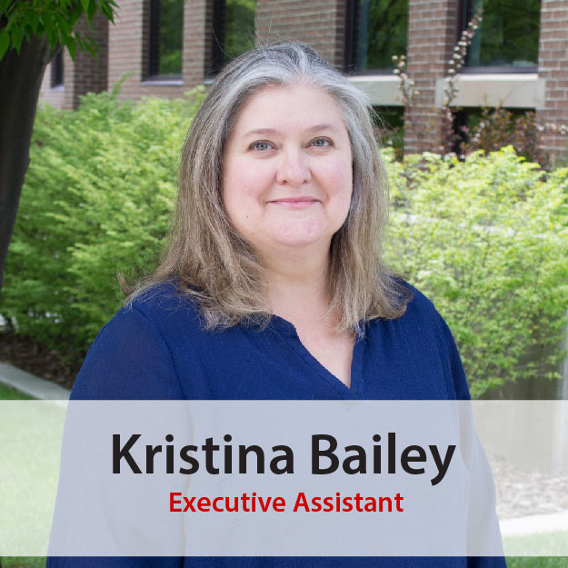 Kristina Bailey, Excecutive Assistant